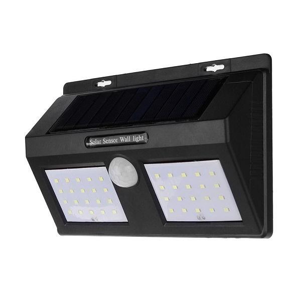 Proiector solar 40 led-uri cu senzor de miscare si de intuneric
