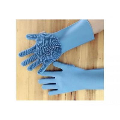 Manusi de bucatarie cu peri flexibili din silicon, pentru spalat vase