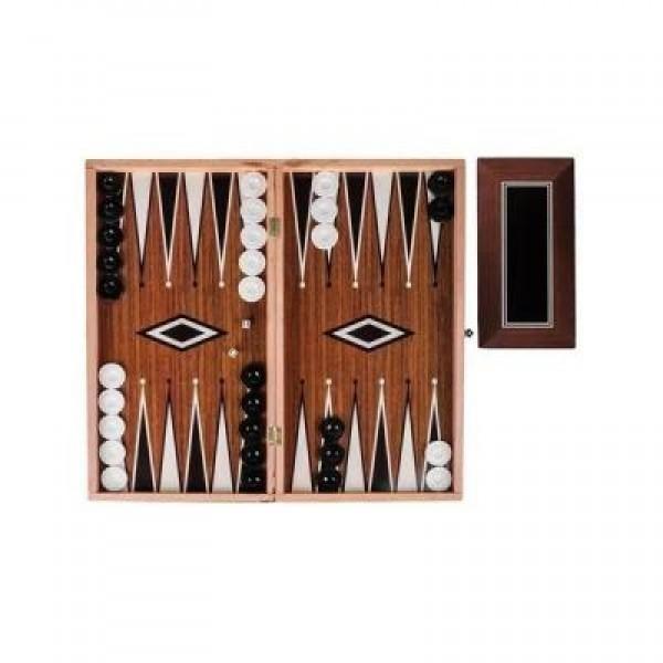 Joc de table si sah, de lemn, dimensiuni mari, design elegant