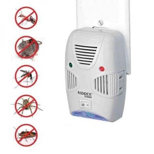 Aparat pentru insecte, gandaci sau sobolani, RiddexQuad, cu ultrasunete