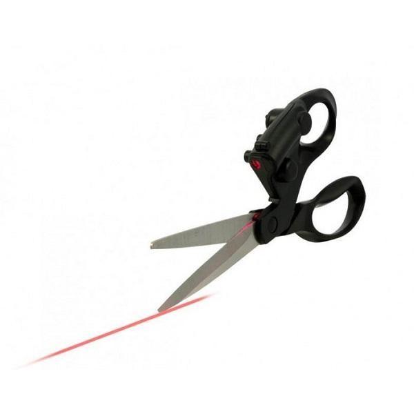 Foarfeca cu laser, taie drept, ondulat sau in unghi