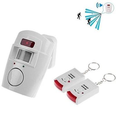 Alarma fara fir cu senzor miscare si 2 telecomenzi