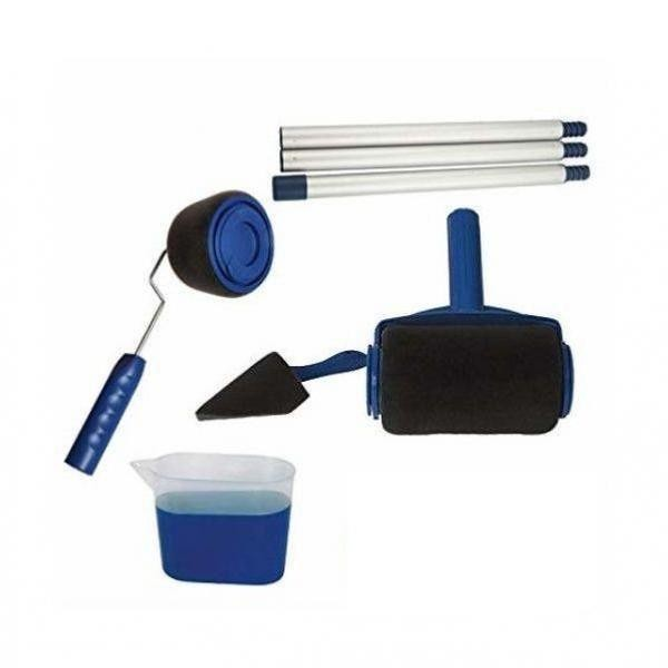 Trafalet Paint Runner Pro, cu rezervor, rola mare, mica + spatula pentru colturi