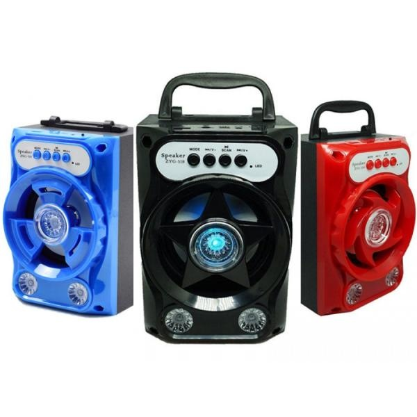 Boxa bluetooth, 10W, reda muzica de pe card, stick USB, radio, AUX