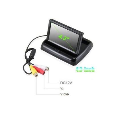 Monitor auto de 4.3inch rabatabil, pentru camera marsarier