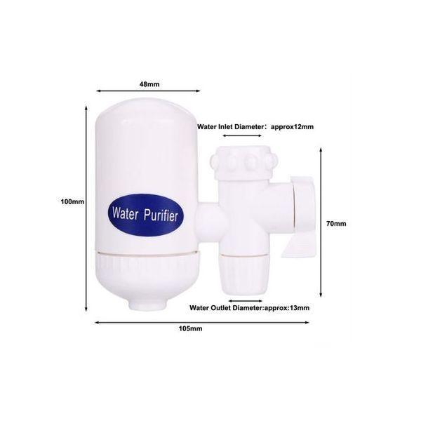 Filtru de apa cu robinet pentru chiuveta, purifica si filtreaza apa