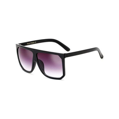 Ochelari de soare Kim K., negri, oversized, lentila de calitate