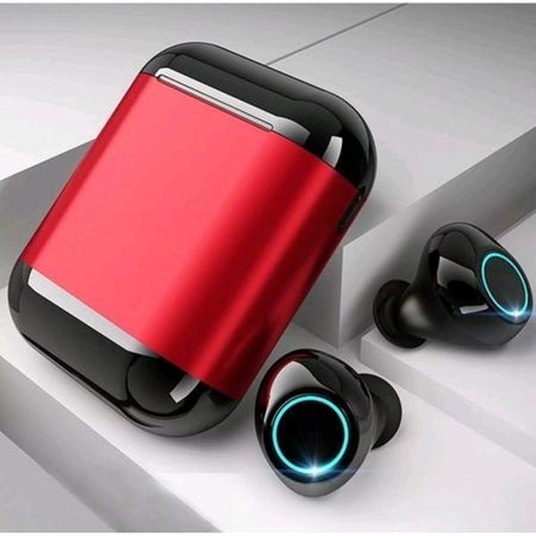 Casti bluetooth wireless cu baterie 500 mah, waterproof, cu activare vocala