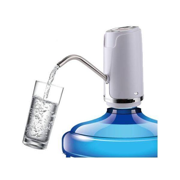 Pompa electrica de apa Aqua Zen, pentru bidoane mari, cu acumulator reincarcabil USB