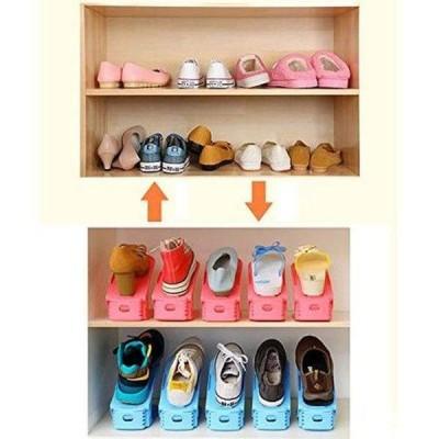 Set 10 organizatoare incaltaminte, ideal pentru sandale, papuci si pantofi cu toc