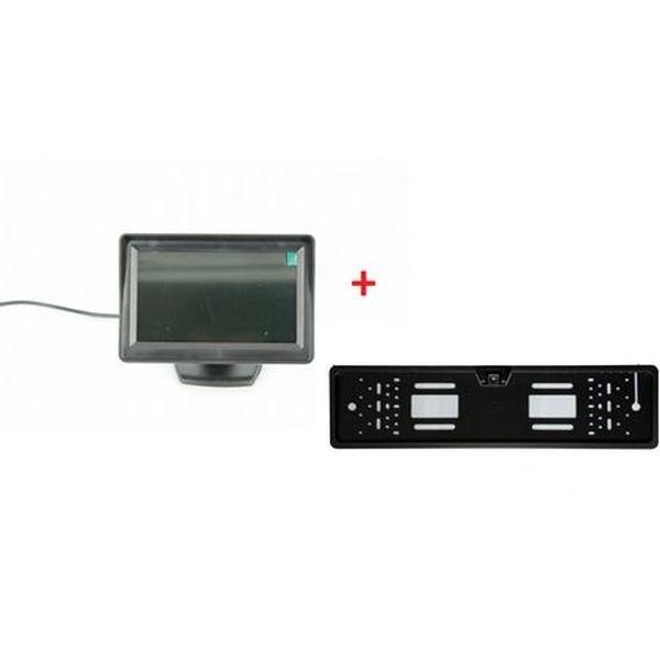 Camera video marsarier cu monitor LCD 4.3 inch pentru vedere spate