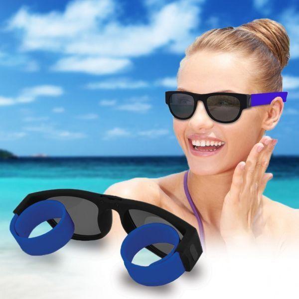 Ochelari de soare pliabili polarizati, lentila de calitate, model unisex