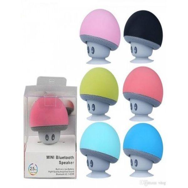 Boxa bluetooth pentru camera copilului, in forma de ciupercuta