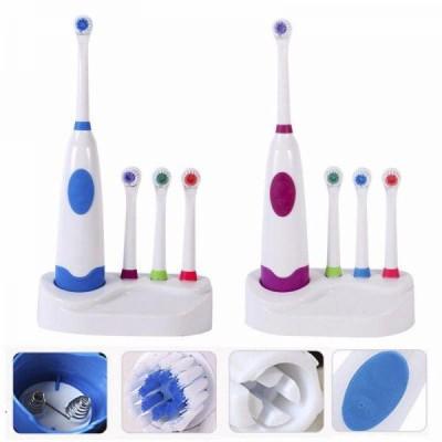 Periuta de dinti electrica cu 4 capete detasabile