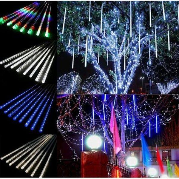 Turturi luminosi, 8 bucati cu 160 LED-uri, multicolor, interconectabil