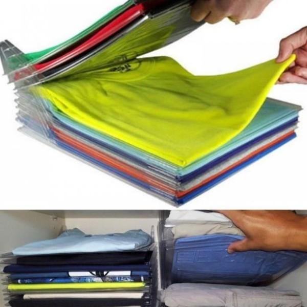 Organizator pentru tricouri, set 10 planse