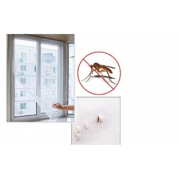 Plase impotriva insectelor, dimensiuni 130 x 140 cm, set de 4 plase