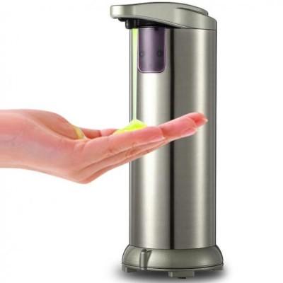 Dozator din inox de sapun cu senzor infrarosu