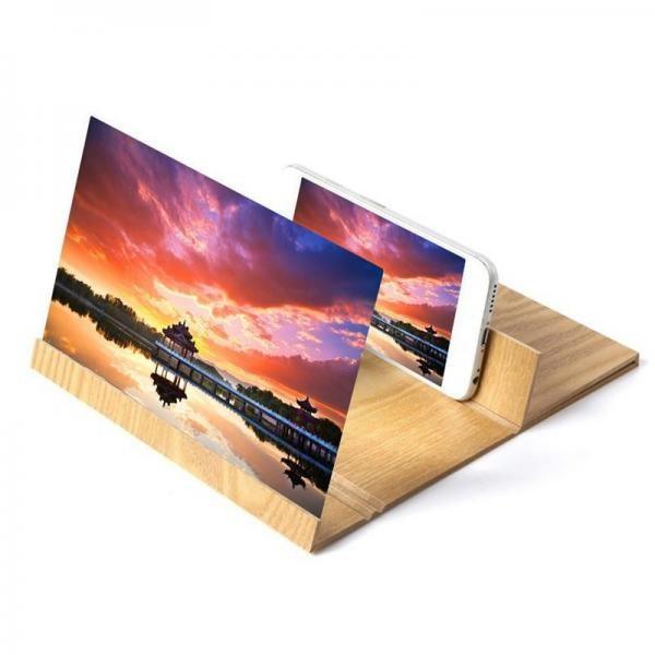 Ecran cu Lupa - Amplificator de imagine 3D pentru telefoane mobile