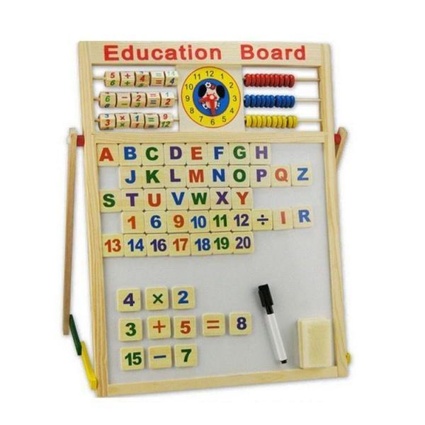Tabla educativa magnetica pentru copii (40x40)