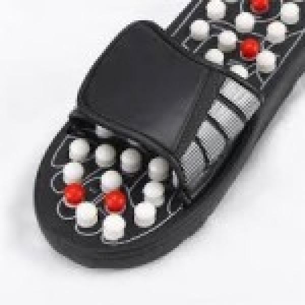 Papuci Foot Reflex pentru masaj prin reflexoterapie, ajuta circulatia si reduc oboseala