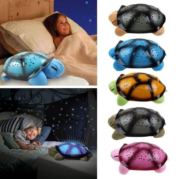 Proiector in forma de broasca testoasa - Sparkling Turtle