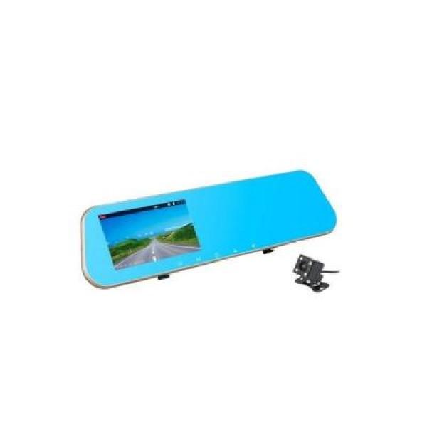 Oglinda monitor dual camera 4.3 inch pentru parcare AT BTK15L 2CAM FULL HD