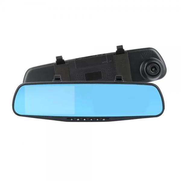Oglinda monitor dual camera 4.3 inch pentru parcare